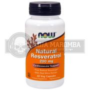 Resveratrol 200mg (60 caps) - Now Foods
