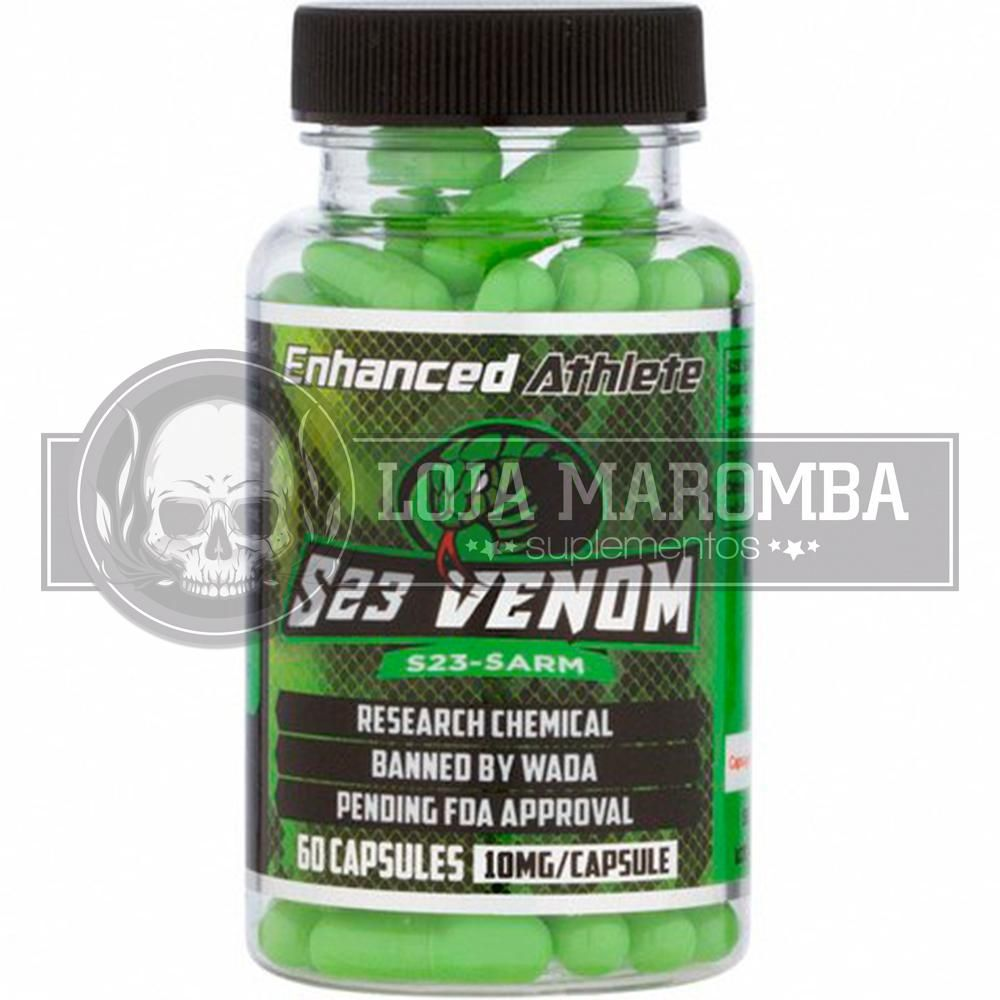 S-23 Venom 10mg (60 Caps) - Enhanced Athlete