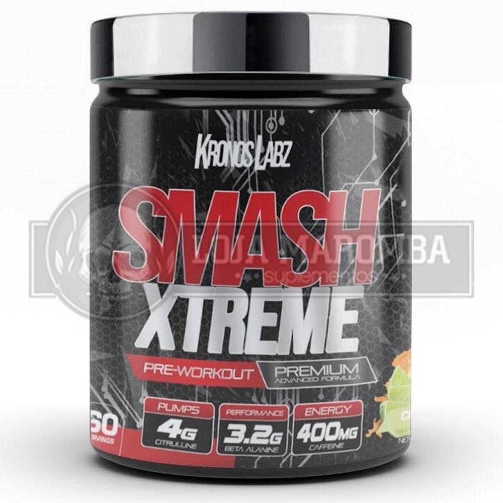 Smash Xtreme e Pré-treino e Vasodilatador (60 doses) - Kronos Labz