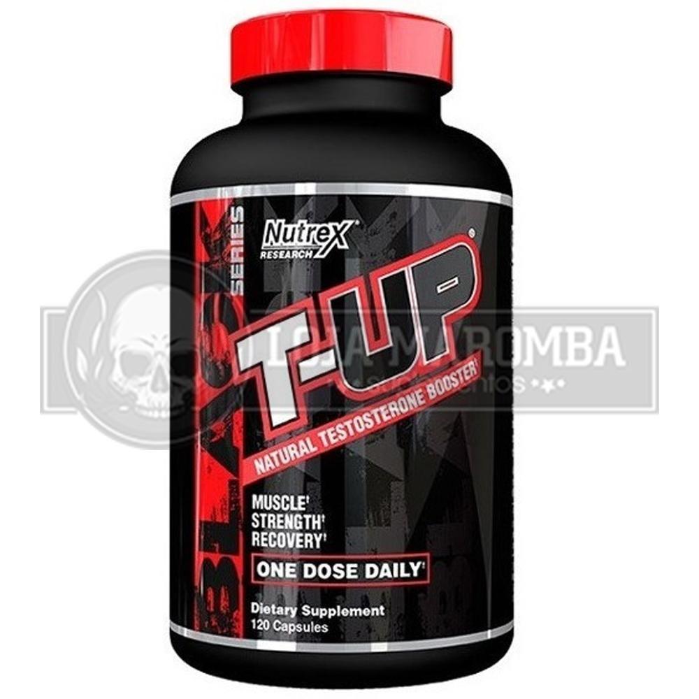 T-Up Mega Testosterone Booster (120 Caps) - Nutrex