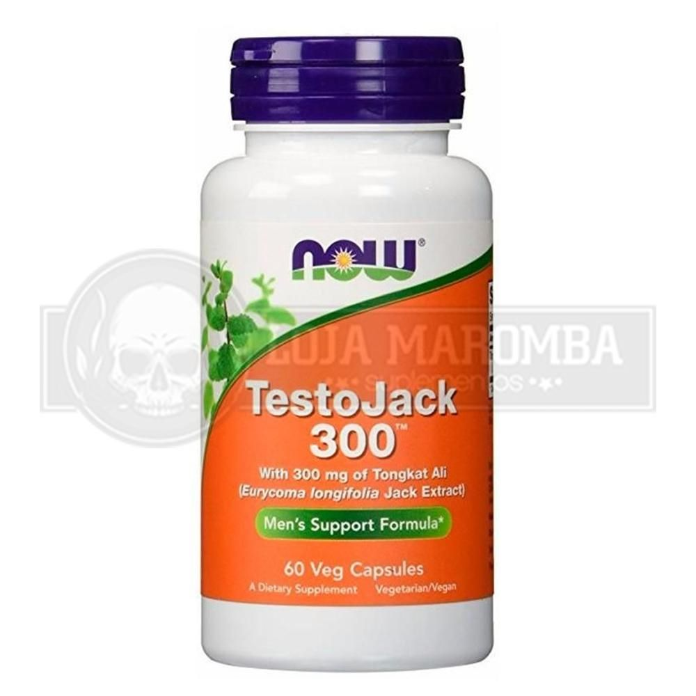 Testojack 300 (60 Cápsulas) - Now Foods