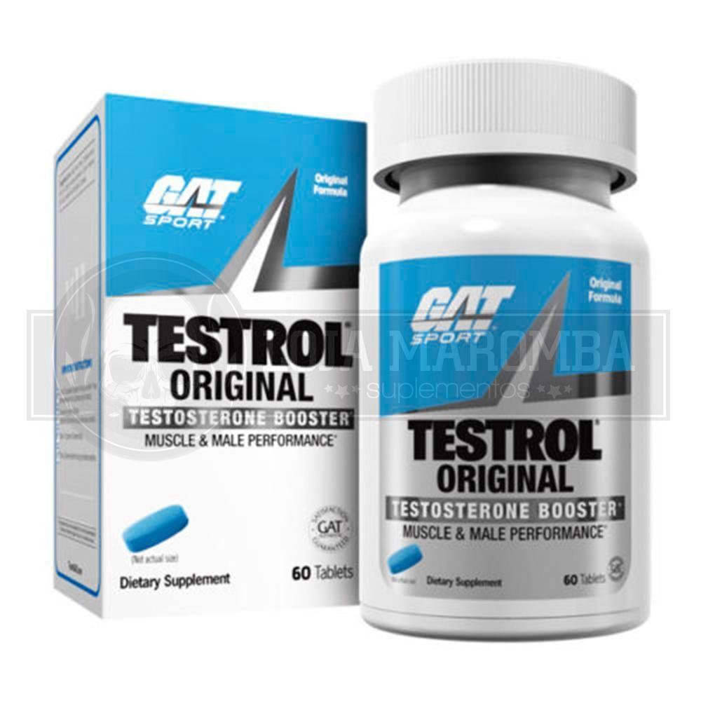 Testrol Original (60 Tabs) - GAT (Validade 11/2019)