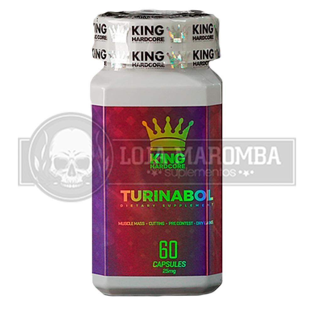 Turinabol 25mg (60 Cápsulas) - King Hardcore