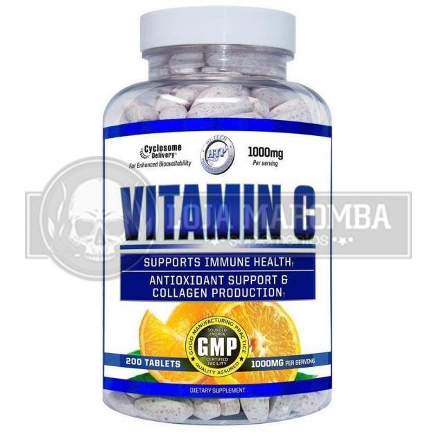 Vitamina C 1000mg (200 tabs) - Hi Tech