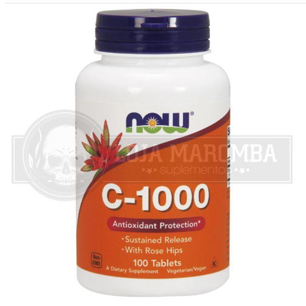 Vitamina C Liberação Gradativa (100tabs) - Now Foods